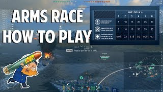 World of Warships Arms Race - How to Play