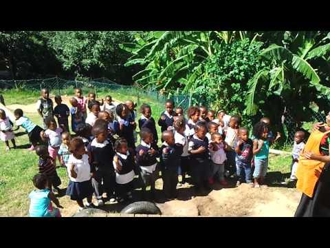 Childrens Kindergarten on Knysna Township Tour