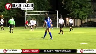 La Juve vs. Wizards Women Premier Academy