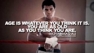 Inspirational Quotes - Muhammad Ali