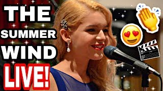 Frank Sinatra - Summer Wind LIVE by 15 year old KASIA 2016 (cover)