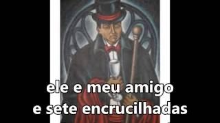 """Sete Encrucilhadas """"Ogum mandou louvar a exú"""" Tiao Casemiro SUBTITULADO"""