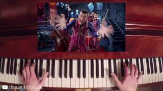We are number one but its a piano cover (Lazy Town)