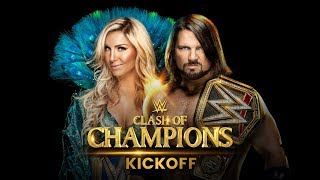 WWE Clash of Champions 2017 Kickoff show