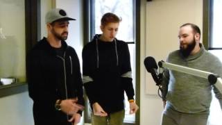 HOJA stops by to perform (Starboy, The Weeknd)