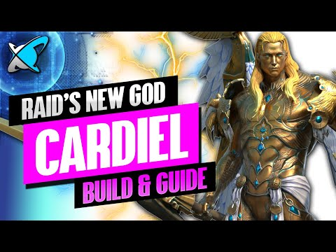 """RAID'S NEW GOD"" Cardiel Build, Guide & Masteries | Best Legendary Champions | RAID: Shadow Legends"