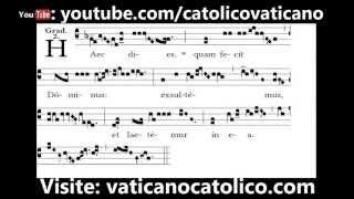 Haec dies (Easter Sunday) | Canto Gregoriano | Gregorian Chant