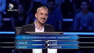 Vrei sa fii milionar? (17.12.2018) - Ce prag au atins concurentii? Luni - marti, de la 23:00!
