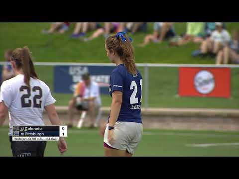Video Thumbnail: 2018 College Championships, Women's Semifinal: Colorado Vs. Pittsburgh
