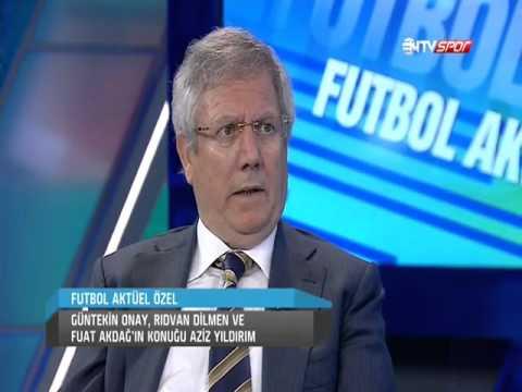 Aziz Yıldırım'dan Ntv Spor'da Şok Açıklamalar: Mehmet Aydınlar