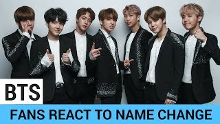 """BTS Fan ARMY Reacts to """"Beyond the Scene"""" Name Change"""