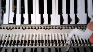 Roland RD 500 riparazione martelletti - how to repair keyboard hammers
