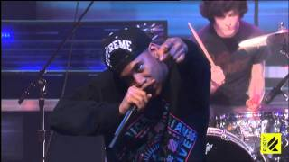Mellowhype of Odd Future ft. Bass Drum of Death - 64 - LIVE Fuel TV [HD]