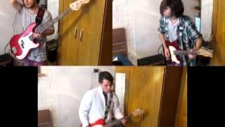 Pearl Jam - Porch (Guitar & Bass Cover) AxiomA Version