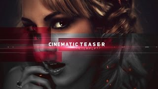After Effects Template: Cinematic Teaser