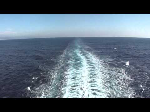 MSC Fantasia Cruise Ship ' filmed for the Spanish coast, Barcelona '