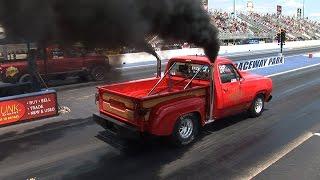 DESIEL TRUCK DRAG RACING - NHRDA Tulsa
