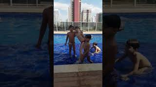 Desafio Maluco na piscina