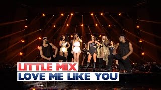 Little Mix - 'Love Me Like You' (Jingle Bell Ball 2015)