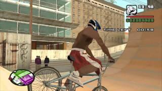 GTA: San Andreas - BMX Challenge (HD)