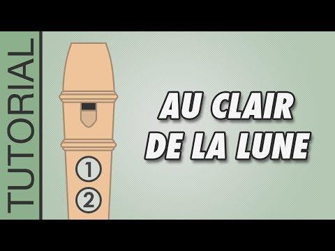 Comment jouer Au Clair de la Lune à la flûte à bec