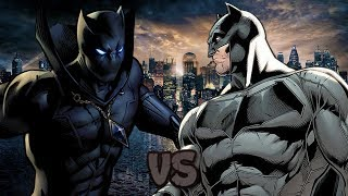 Black Panther vs Batman || Épicas Caballerías de Rap || Kballero ft. CC3