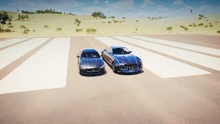 Forza Horizon 3 - Quartz REGALIA vs Maserati GHIBLI S Q4 Drag Race!