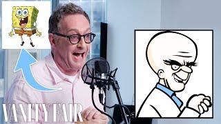 Tom Kenny (SpongeBob) Improvises 5 New Cartoon Voices   Vanity Fair