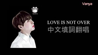 ✦中文版填詞翻唱✦BTS:JUNGKOOK-LOVE IS NOT OVER║Mandarin cover by Vanya Chang