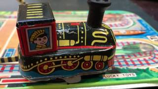 Mechanical Train Lucky Toys