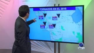 Número de tornados en el Suroeste de Florida en el año 2016