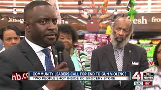 Community leaders call for end to gun violence