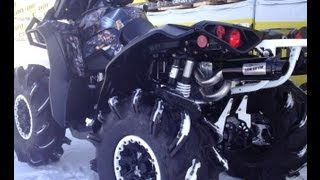 "Renegade XXC 1000 ""Madhatter Wrapped White Powder Coat Build!"""