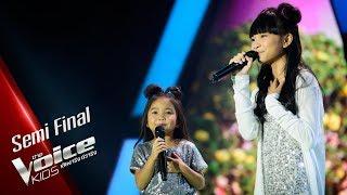 มณี&มินา   What A Wonderful World   Semi Final   The Voice Kids Thailand   24 June 2019