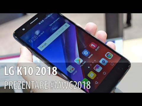 LG K10 2018 - Prezentare hands-on