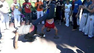 Instrutor Cabelo, Roda de Rua, Capoeira Banguela, USA Arizona 2016
