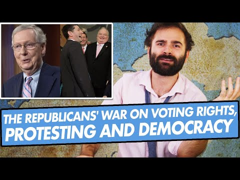The Republicans' War on Voting Rights, Protesting and Democracy - SOME MORE NEWS