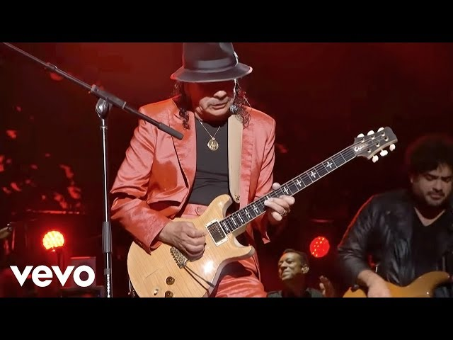 Video en directo de Santana para Billboard Latin Music Adwards junto a Juanes