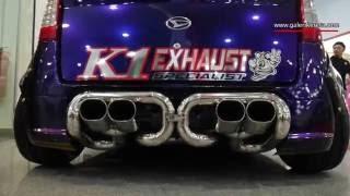 Daihatsu Avy with Custom Exhaust | Galeri Kereta