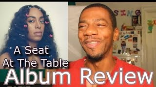 Solange Knowles - A Seat at the Table (Album Review)