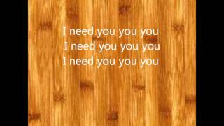 Everybody needs somebody lyrics
