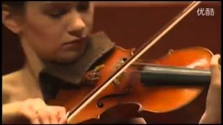 Hilary Hahn - Bach - Gigue, from Partita No 3 in E major