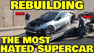 I bought a WRECKED BMW i8 and everyone is JEALOUS
