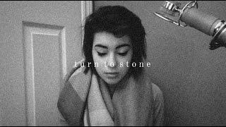 turn to stone | dalton rapattoni | cover