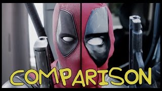 Deadpool Trailer- Homemade Side-by-Side Comparison