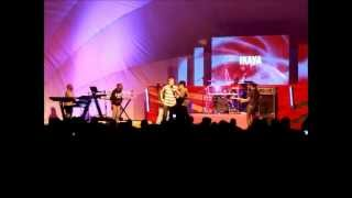 Richie Campbell LIVE at Bob Marleys Tribute 2013 - Love Is An Addiction ft. Ikaya