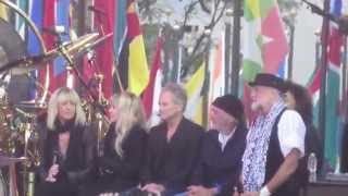 Fleetwood Mac interview before performing the band's hits on Today Shoe before