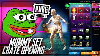 Mummy Crate Opening Can We Get The Mummy Set? Pubg Mobile | Future Gaming
