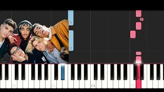 PrettyMuch - Would You Mind (Piano Tutorial)