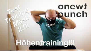 Auspacken und 1 Test von Elevation Training Mask 2.0 für Höhentraining und Ausdauer One Two Punch.